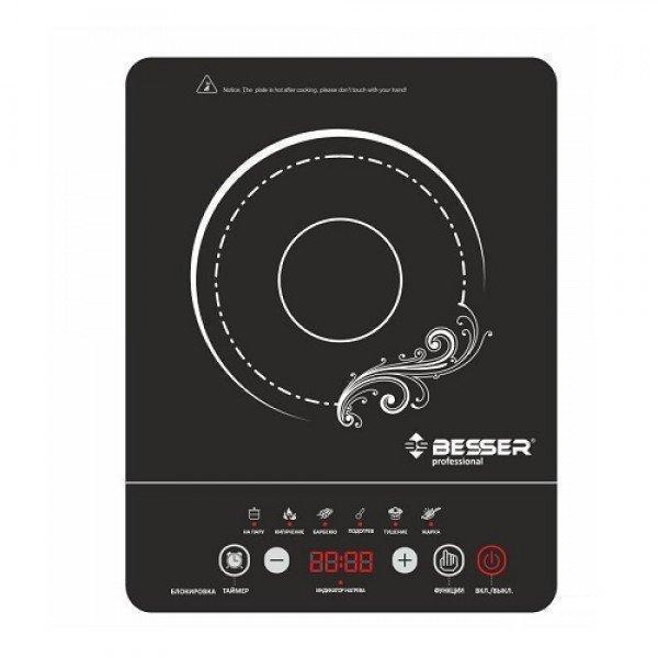 Инфракрасная электроплита BESSER 2000 Вт (10249) Стеклокерамическая