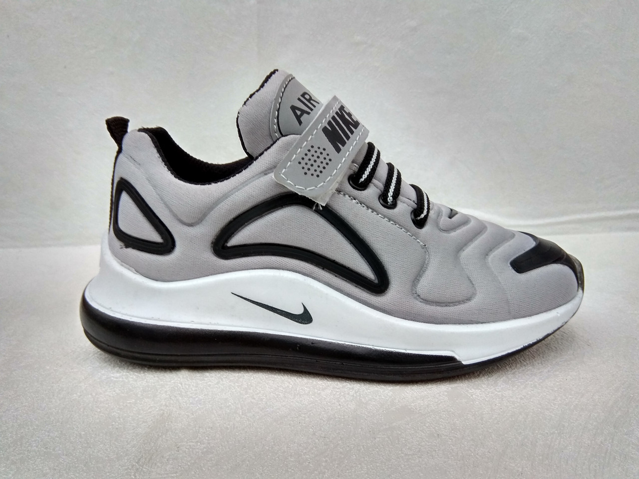4aedd12b1 Детские кроссовки Nike оптом N720 grey (р.31-35) Турция реплика ...