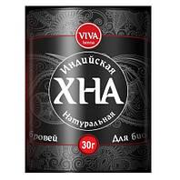 Хна для Биотату и бровей VIVA Henna 30г ЧЕРНАЯ + масло в подарок!