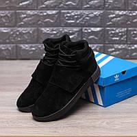 Кроссовки Adidas Tubular Ivader Strap Triple Black
