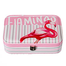 Шкатулка для украшений с зеркалом Flamingo (299JH), фото 3