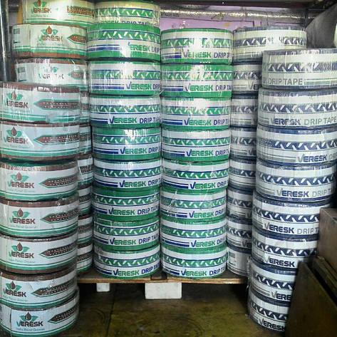 Лента для капельного полива щелевая Drip Tape VERESK 10 см (300м), фото 2