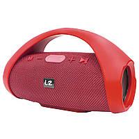 ➚Переносная колонка LZ Boombox mini Red переносная с ручкой Bluetooth соединение портативная динамики 10 Вт