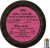 Патрон Флобера Sellier & Bellot Randz Curte кал. 4 mm Short Пуля - Свинцовый Шарик Плакированный Медью. Упаковка 200 Шт. (V355332)