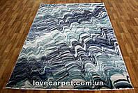 Ковер LOW_CANYON 122BA D.BLUE/L.BLUE