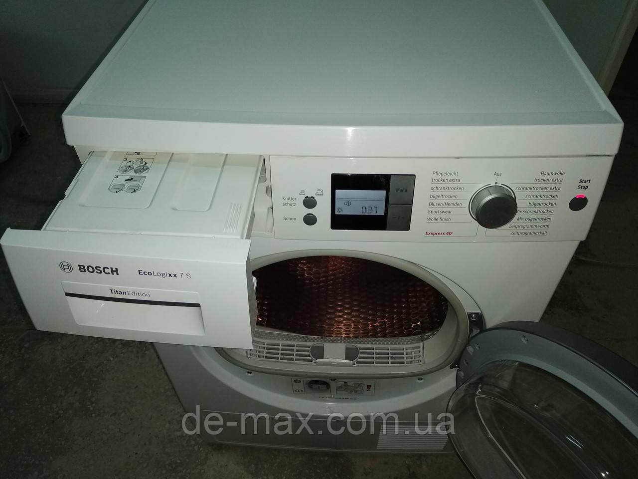Сушильная машина с тепловым насосом Bosch Eco Logixx 7 S  WTW 86575 EX