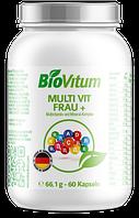 Женский комплекс витаминов и минералов MULTI VIT FRAU+ 60 капсул