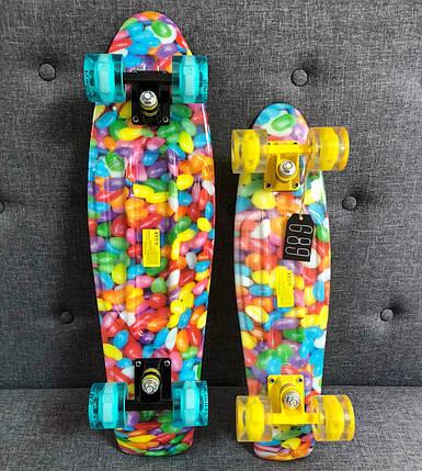 "Penny  Board Nickel Print 27"" - Candy 68 см пенни борд скейт, фото 2"