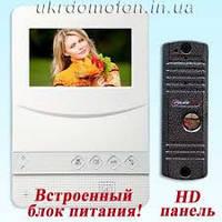 Домофон и вызывная панель PC-431 W HD