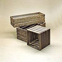 Короб для хранения Неаполь капучино В15хД25хШ30см