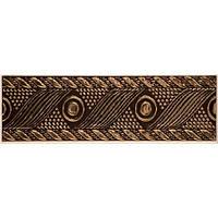 Плитка Атем Нора настенная фриз Atem Nora Rosette B 220 х 70 мм