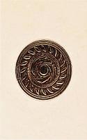 Плитка Атем Нора настенная декор Atem Nora Rosette B 220x350 мм