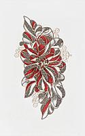 Плитка Атем Верусо настенная декор Atem Veruso Flower R 220x350 мм