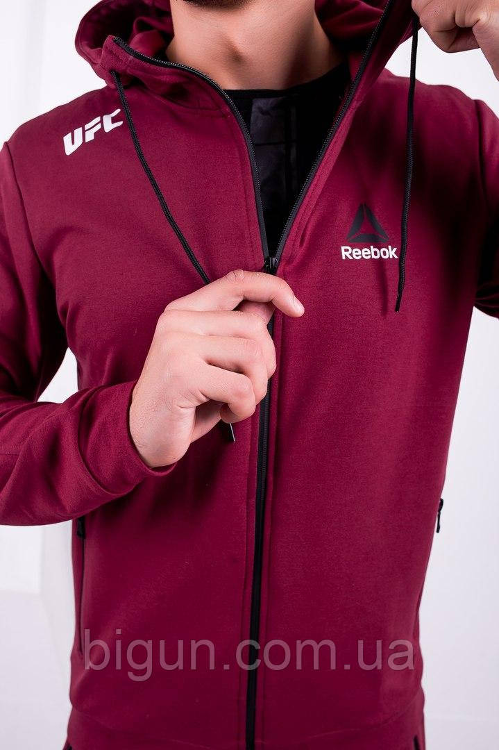 c83013a5 Мужской спортивный костюм Reebok UFC (костюм рибок юфс, бордовый) , цена  900 грн., купить в Киеве — Prom.ua (ID#895575883)