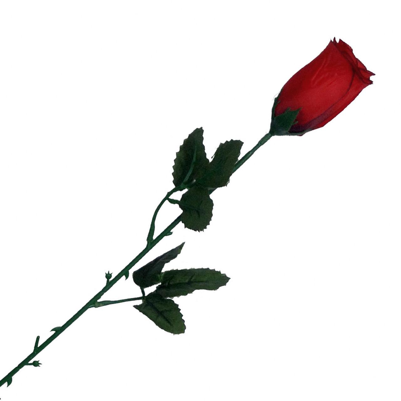 Роза Бутон  на ножке, 60см