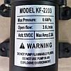 Насос12 В с датчиком давления для электро опрыскивателей KF-2203, фото 3
