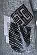 """Жіночий реглан-світшот оversize з принтом ,, вязка """" , фото 5"""