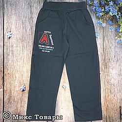 Спортивные штаны с начёсом для мальчика Размеры: 7-8-9 лет (8145-2)