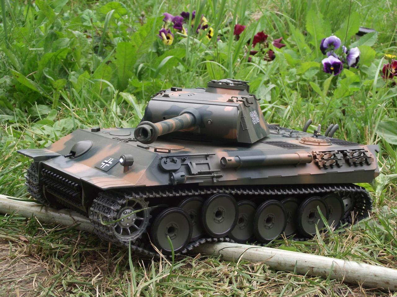 Танк на радиоуправлении Пантера German Panther HENG LONG 3819-1. Суперподарок!