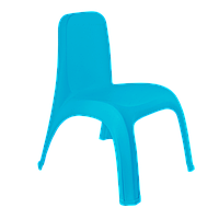 101062/2 Стул детский со спинкой Алеана, 40*42*53, (голуб)