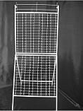 Стенд (стойка) металлический под очки 210 мест с  ЗЕРКАЛОМ, фото 3