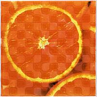 Плитка Атем Орли настенная декор Atem Orly Orange 1 W 200x200 мм