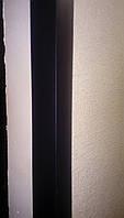 Защитный пластиковый уголок 30х30 черный