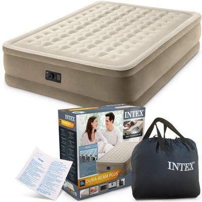 Надувная, двухспальная, двухместная, кровать, intex, 203х152х46см