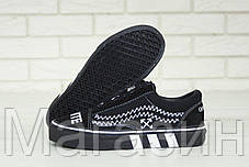Женские кеды OFF-WHITE x Vans Old Skool 2020 Black (Ванс Олд Скул ОФФ Вайт) черные, фото 2