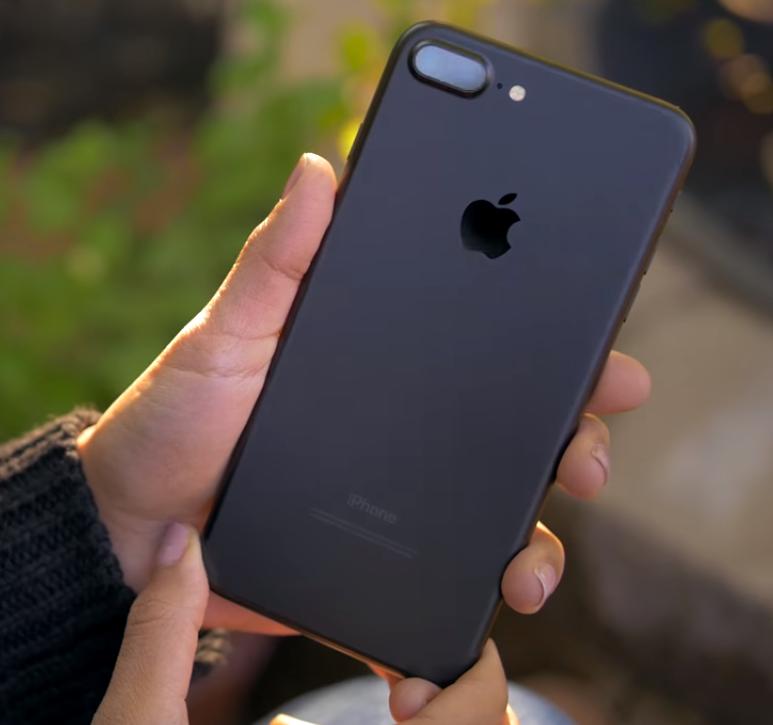 IPhone 7Plus Корейская фабричная копия Черный матовый 32Гб