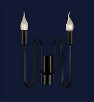 Бра свеча Levistella 773H025-2 BK