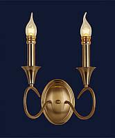 Бра свеча Levistella 775W6152-2 CU