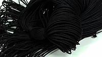Шнур 1мм (100м) черный