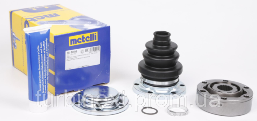 Шрус (внутрішній) METELLI 16-1016 MB Vito (W638) 2.3 D/TD 96-03