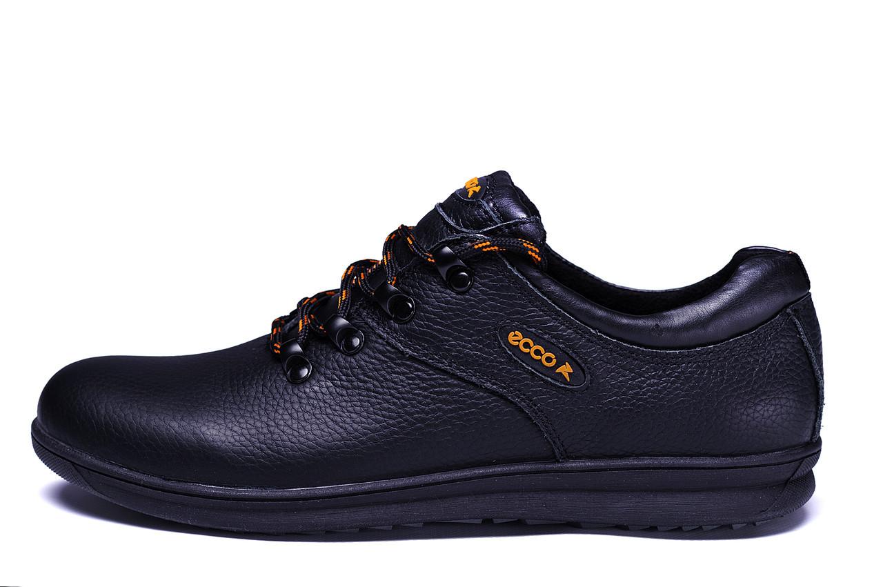 Мужские кожаные кроссовки  Ecco infinity Primavera (реплика)