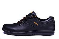 Мужские кожаные кроссовки  Ecco infinity Primavera (реплика), фото 1
