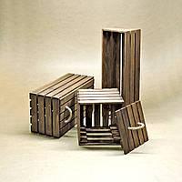 Короб для хранения Неаполь капучино В20хД15хШ20см