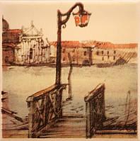 Плитка Атем Парма настенная декор Atem Parma Pier B 100x100 мм