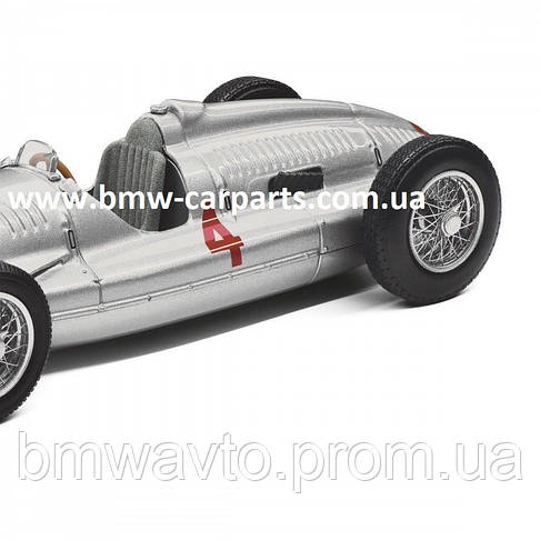 Модель автомобиля Audi Auto Union Type D, Scale 1:43, Silver, фото 3