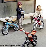 Велосипед-беговел bmw Kidsbike 80932413748 - черный с оранжевым