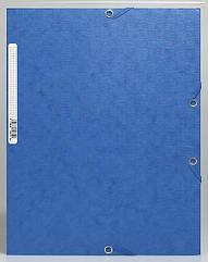 Папка на резинке из тисненного картона EXACOMPTA
