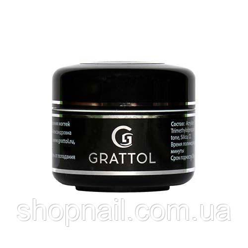 Grattol, Top Gel - Финиш для геля с липким слоем (15 мл.)