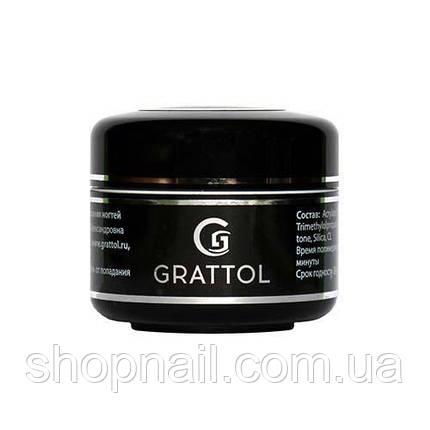 Grattol, Top Gel - Финиш для геля с липким слоем (15 мл.), фото 2