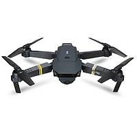 Квадрокоптер TOYS-SKY S168-E58 Mini Drone з камерою WiFi 720P Чорний (SUN3425), фото 1