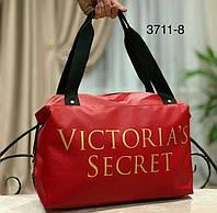 Женская сумочка в стиле Victoria's Secret красная