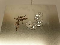 Приварные штифты, самозажимные диски (комплект 1000 шт)