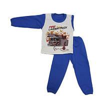 Детская теплая пижама р.26-34
