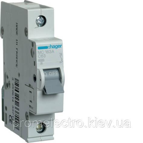 Автоматический выключатель Hager In32 А, 1п, С, 6 kA, 1м (MC132A), фото 2