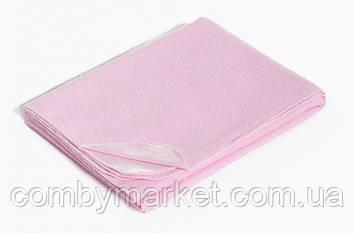 Непромокаемая пеленка Twins 70/100 розовая
