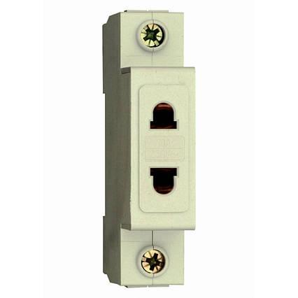 Розетка на Din-рейку ELECTRO РМ-1 10А  1 полюс